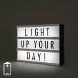 Zdjęcie A5 LED Light Box incl. 85 letters and Symbols