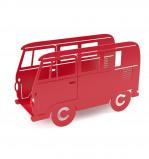 Afbeelding van Balvi tijdschriftenrek bus Van Rood