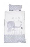 Image of Baby Dan Baby Bedlinen Elefantastic Grey