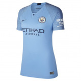Abbildung von 2018/19 Manchester City FC Stadium Home Women's Football Shirt Blue