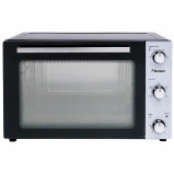 Afbeelding van Bestron AOV45 grill bakoven met draaispit en hetelucht mini (Zwart/zilver)