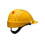 Afbeelding van 3M Peltor G2000DUV GU Veiligheidshelm met pinlock Geel Leren sweatband