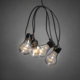 Afbeelding van Konstsmide LED Decoratie lichtsnoer 4.5m transparant (Aantal lampen: 20 lampen, Kleur verlichting: extra warm wit)