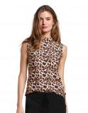 Abbildung von LaDress Amber top aus jersey lycra print