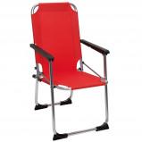 Afbeelding van Camp Gear Opvouwbare campingstoel voor kinderen rood aluminium 1211929