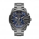 Afbeelding van Diesel DZ4329 Mega Chief herenhorloge horloge Grijs