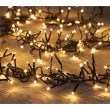 Afbeelding van Anna's Collection Cluster lights 1152l/6,9m led warm wit 4m aanloopsnoer zwart bi...