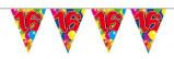 Afbeelding van Amigo Vlaggenlijn ballonnen: 16 jaar 10 meter