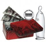 Abbildung von 50 transparente dünne Kondome Latex