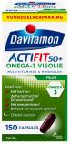 Afbeelding van Davitamon Actifit 50 Plus Omega 3 Visolie Capsules 90st