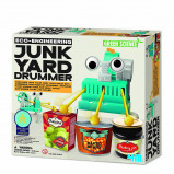 Afbeelding van 4M Kidzlabs green science/Eco Engineering: Junk Yard drummer