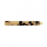 Afbeelding van Bruin haarschuifje breed, haarspeld