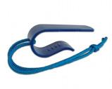 Afbeelding van Dynello Fling Clip Spanband houder met koord (20st)