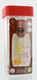 Afbeelding van Bibi Happiness fles Play With Us 260 ml oranje/groen