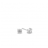 Image of TI SENTO Milano Earrings White Silver Plated 7319ZI