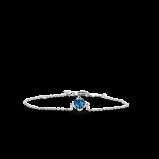Image of TI SENTO Milano Bracelet Blue Silver Plated 2912DB