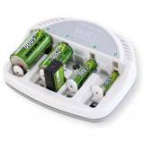 Afbeelding van Ansmann Basic 5 Plus oplader voor AA, AAA, 9V, C en D batterijen