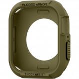 Abbildung von Apple Watch 40 mm: Spigen Rugged Armor™ Case Grün