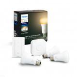 Afbeelding van philips Hue White Ambiance E27 3st start set, kunststof, E27, 8.5 W, energie efficiëntie: A+, L: 11 cm