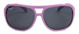 Afbeelding van Haga Eyewear Melleson zonnebril kind roze 0 4 jaar 1 stuk