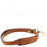 Image de Adjustable briefcases leather shoulder strap Honey