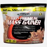 Image of 100% Premium Mass Gainer by Muscletech 5455 grams (16 shakes) Vanilla