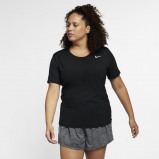 Image of Nike Pro Men's Short Sleeve Training Top Black