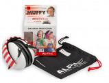 Afbeelding van Alpine Muffy gehoorbescherming voor kinderen Wit met beschermtasje kind