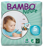 Afbeelding van Bambo Nature Luiers 5 Junior 12 22kg