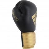 Afbeelding van Adidas (Kick)Bokshandschoenen Hybrid 100 Zwart/Goud 10 OZ