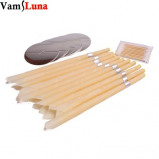 Imagem de 100X Smoke Free Natural Beewax Ear Candle Ear Waxing Cone Without Pesticide Residue