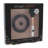 Zdjęcie 2K Let's Get Perfect! zestaw Bronzer 10 g + Pędzel 1 szt dla kobiet Medium/Dark