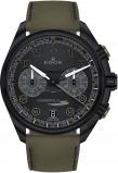 Afbeelding van Edox 09503 37NNVCV NNV herenhorloge zwart edelstaal PVD