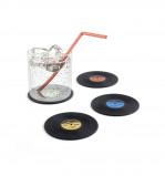 Afbeelding van Balvi set van 4 LP onderzetters The Coaster