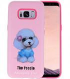 Afbeelding van 3D Print Hard Case voor Galaxy S8 The Poodle