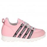 Afbeelding van Dsquared2 59691 kindersneakers licht roze