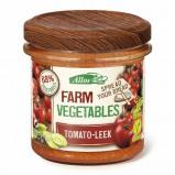 Afbeelding van Allos Farm vegetables tomaat & prei (135 gram)