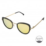 Bilde av Komono Crafted Billie Black Gold coloured Polarized Sunglasses KOM S3600