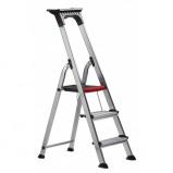 Afbeelding van Altrex Double Decker huishoudtrap 3 treeds ladder