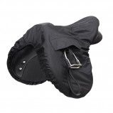 Obrázek Shires Saddle Cover Waterproof Ride On Black