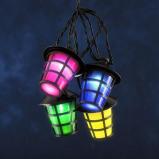 Afbeelding van Konstmide CHRISTMAS lichtket v buiten Lampion 20 LED lantaarns kleurr, kunststof, 0.06 W, energie efficiëntie: A, L: 475 cm