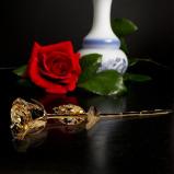 Image of 24K Golden Rose Black Giftbox