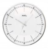 Afbeelding van AMS 5608 Wandklok zendergestuurd metaal 40 cm ø