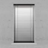 Afbeelding van Aluminium Jaloezie 25mm Smart Black 80x180