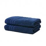 Afbeelding van 2 pack Luxe Katoenen Handdoeken van Silverstar Antraciet Koopjedeal De beste Deals & Dagaanbiedingen
