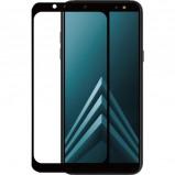 Afbeelding van Azuri Samsung Galaxy A6 (2018) Screenprotector Gehard Glas Duo Pack Zwart