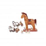Afbeelding van Small Foot 3D Puzzel Het Paard Van Troje 97 Delig