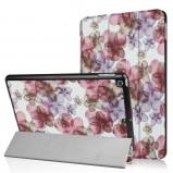 Afbeelding van 3 Vouw bloesem stand flip hoes iPad 9.7 (2017/2018)