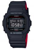 Afbeelding van Casio DW 5600HR 1ER herenhorloge zwart kunststof