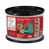 Image of Ako Premium Ultra Fencing Rope White/Orange 400m/5,5mm
